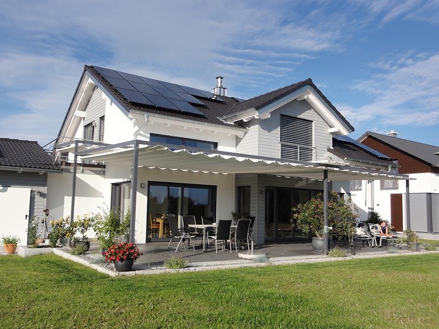 Sonnensegel für Terrassen: VELUSOL - Das Wettersegel | Freiburg 6