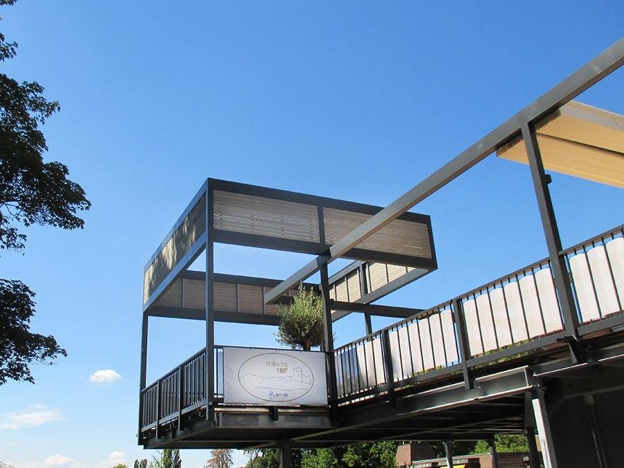 Sonnensegel für Terrassen: VELUSOL - Das Wettersegel | Freiburg 9