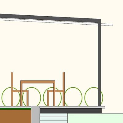 Das VELUSOL 80 gibt es wie dargestellt mit einer 3°-Neigung oder als rechtwinkligen Quader.