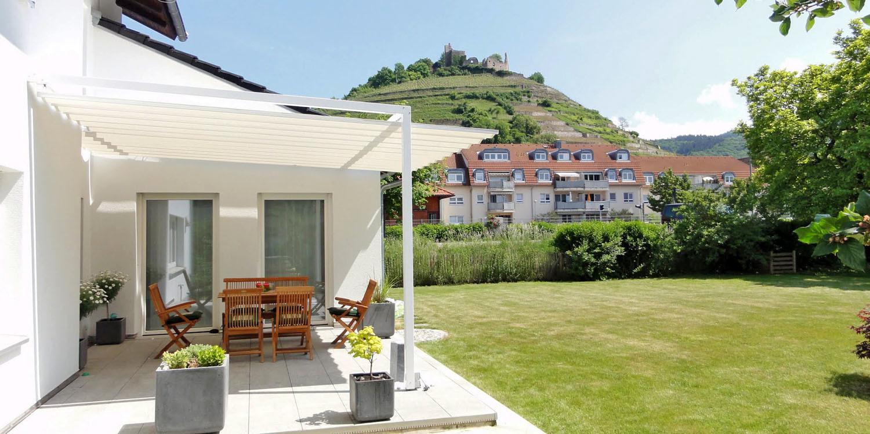 sonnensegel f r terrassen aus freiburg velusol das wettersegel. Black Bedroom Furniture Sets. Home Design Ideas