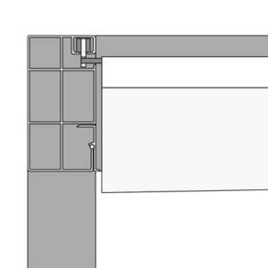 Profilzeichnung der Ecke eines VELUSOL 220